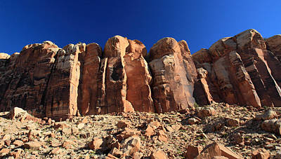 Photograph - Rock Climbing In Canyonlands National Park by Pierre Leclerc Photography