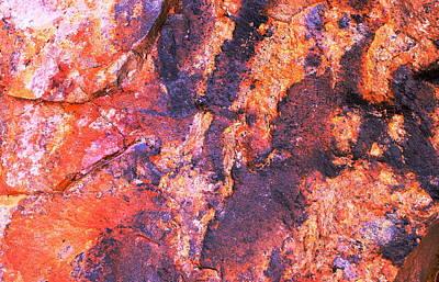 Photograph - Rock Colors 2 by M Diane Bonaparte