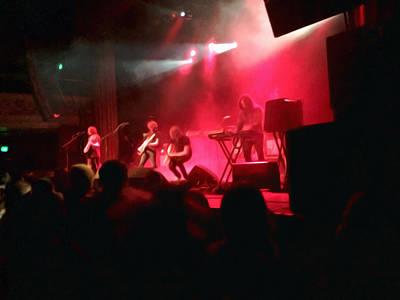 Rock Concert Original by Christopher Parschalk