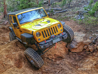 Photograph - Rock Crawling Rubicon by Tony Baca