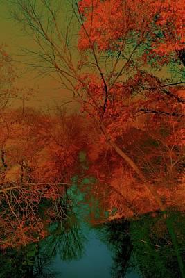Rock Creek At M Art Print