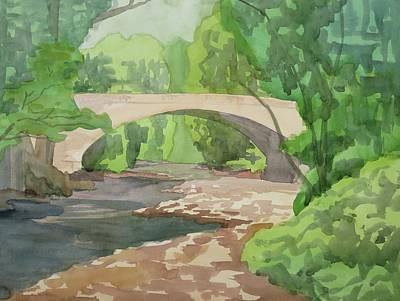 Rock Creek Bridge 4 Original by Bethany Lee