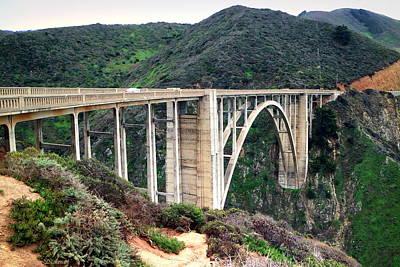 Photograph - Rocky Creek Bridge by Joyce Dickens