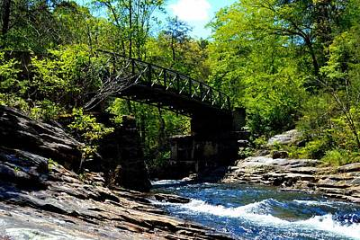 Photograph - Rock Creek Bridge by Tara Potts