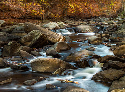 Photograph - Rock Creek by Ed Clark