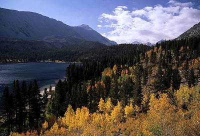 Rock Creek Lake Fall Color Art Print by Don Kreuter