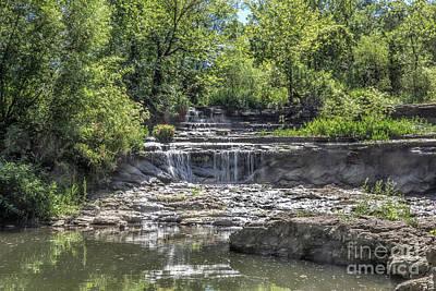 Photograph - Rock Creek Lake Waterfall by Lynn Sprowl