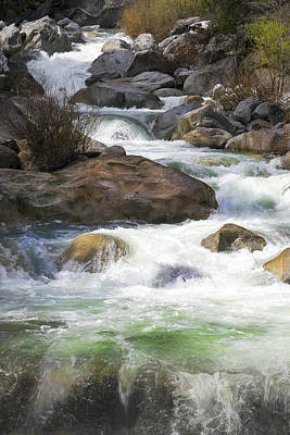 Photograph - Rock Creek Rapids by Frank Wilson