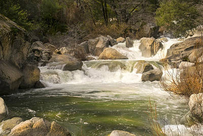Photograph - Rock Creek White Water by Frank Wilson