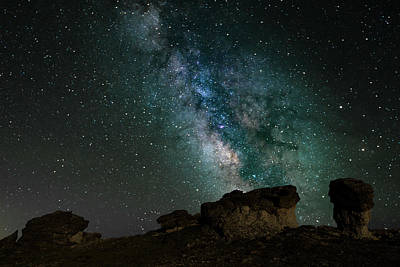 Photograph - Rock Cut - Milky Way by Gary Lengyel