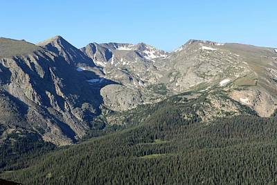 Photograph - Rock Cut - Rocky Mountain National Park by Pamela Critchlow