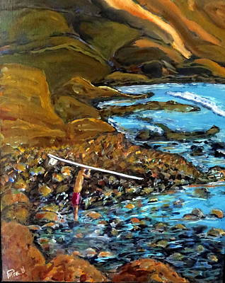 Baja California Painting - Rock Dance by Peter Enyeart