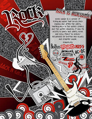 Rock Art Print by Devin Green