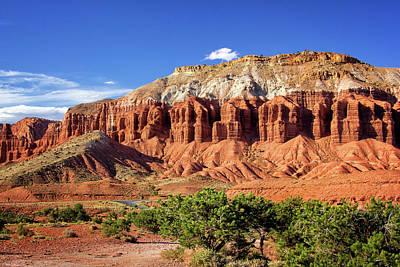 Photograph - Rock Formation Wonders by Carolyn Derstine