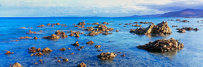 Rock Formations In Pacific Ocean, Sea Art Print by Panoramic Images