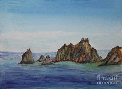Rock Formations Of Cabo San Lucas Original