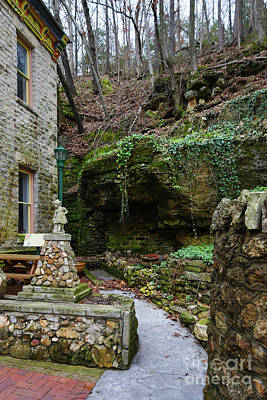 Photograph - Rock Garden Patio by Jennifer White