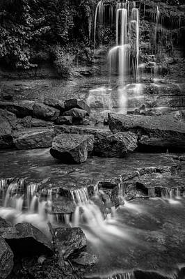 Photograph - Rock Glen Falls by Joshua Hakin