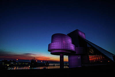 Vermeer Rights Managed Images - Rock Hall at Dusk Royalty-Free Image by Robert Moorhead