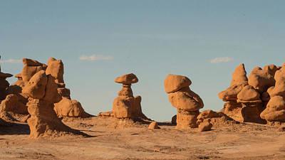 Photograph - Rock Hard Sandstone Formations Goblin Valley State Park Utah by Lawrence S Richardson Jr