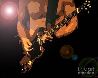 Rock Hero Art Print by David Lee Thompson