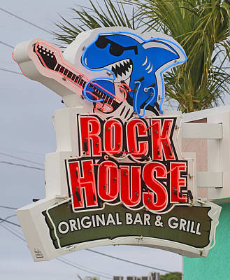 Photograph - Rock House Original Bar Grill by Joseph C Hinson Photography