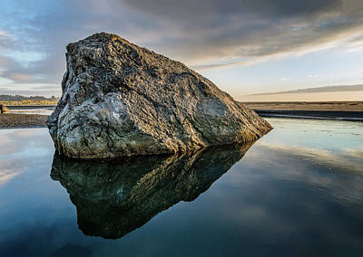 Rock In A River Art Print by Greg Nyquist
