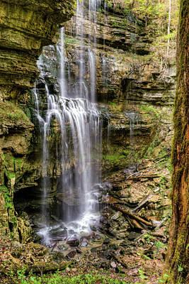 Photograph - Rock Island Falls Tennessee by Douglas Barnett