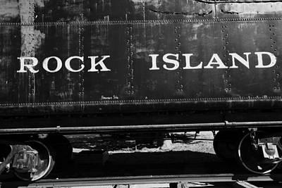 Rivets Photograph - Rock Island Halftone  by Toni Hopper