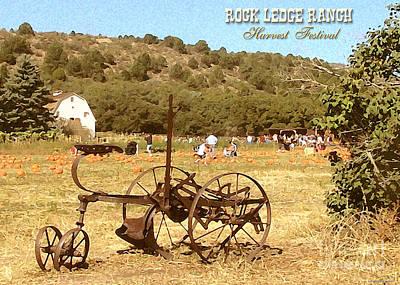 Ledge Photograph - Rock Ledge Ranch Harvest Festival by Cristophers Dream Artistry