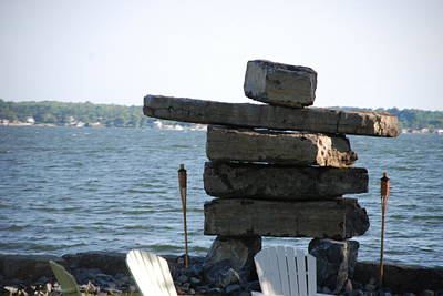 Photograph - Rock Man by Renee Holder