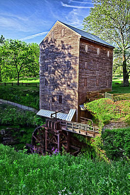 Grist Mill Photograph - Rock Mill by Marcia Colelli