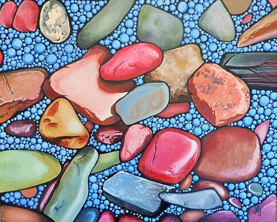 Painting - Rock My World by Anne Gardner