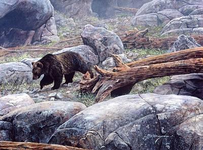 Painting - Rock N' Bear by Brian Durfee