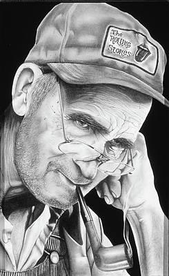 Rock-n-roll Never Dies Art Print by Brett Cremeens