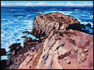 Painting - Rock Of Ages by John Lautermilch