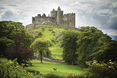 The King Photograph - Rock Of Cashel Cashel County Tipperary by Patrick Swan