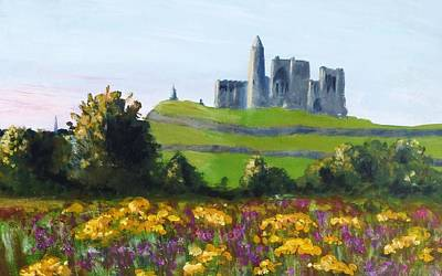 Rock Of Cashel Painting - Rock Of Cashel Eire by Nigel Radcliffe