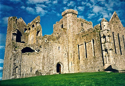 Rock Of Cashel Ireland Art Print