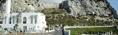 Photograph - Rock Of Gibraltar Mosque Uk Territory by John Shiron