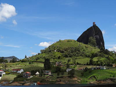 Guatape Photograph - Rock Of Guatape by Jeremy Jones
