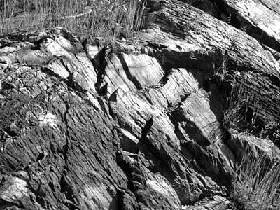 Photograph - Rock Outcropping 2 by Douglas Pike