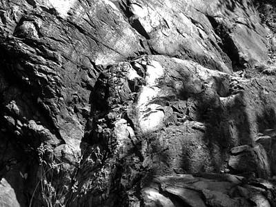 Photograph - Rock Outcropping 3 by Douglas Pike
