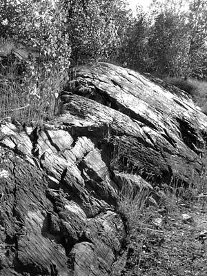 Photograph - Rock Outcropping by Douglas Pike