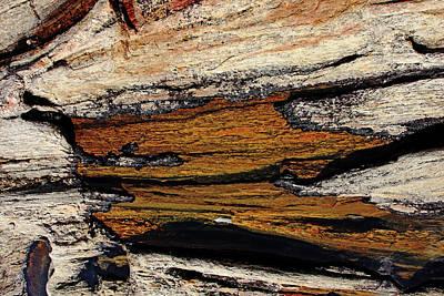 Photograph - Rock Pattern by Debbie Oppermann
