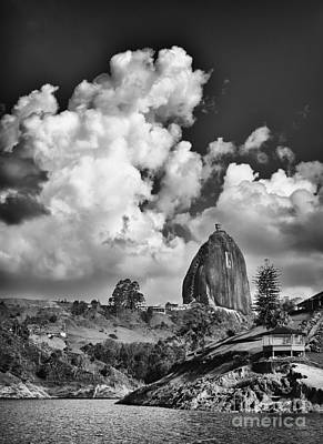 Guatape Photograph - Rock by Photography by Orlando Antelo