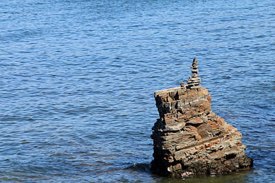 Photograph - Rock Pile by Living Color Photography Lorraine Lynch