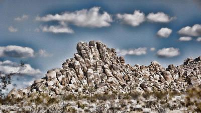 Rock Pile - Painterly Art Print