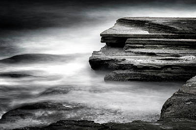 Photograph - Rock Platform by Steve Caldwell