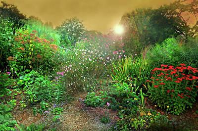 Rock Point Garden And Nature Center Art Print